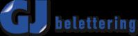 GJ Belettering logo